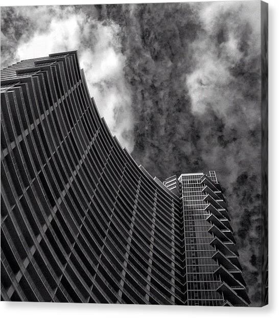 Miami Skyline Canvas Print - Paramount Bay - Miami by Joel Lopez