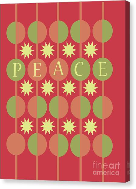 Peace Canvas Print by HD Connelly