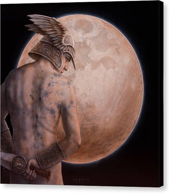 Andromeda Canvas Print - Perseus by Jose Luis Munoz Luque