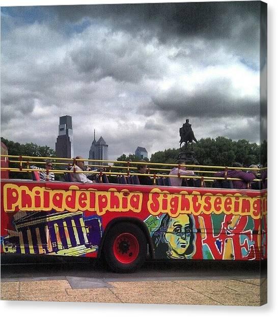 Philadelphia Canvas Print - #philadelphia by Christian Carollo