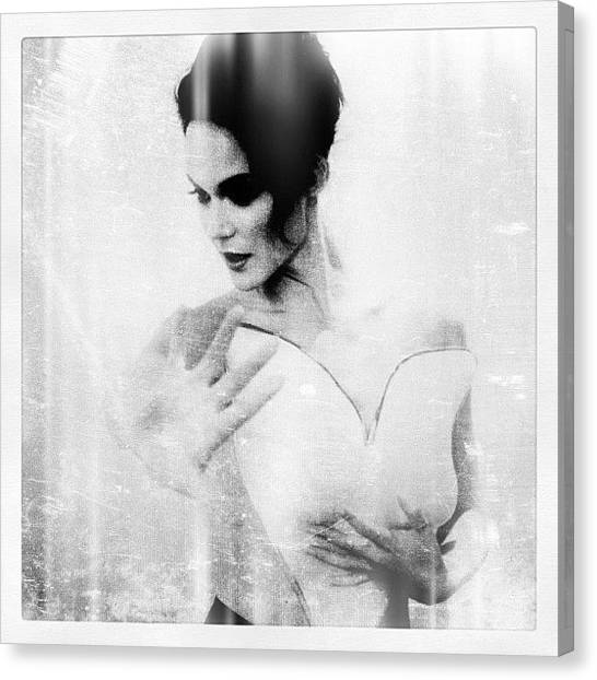 Erotic Canvas Print - Photo By Me As Usual Www.iconicoto.com by Maria Lankina