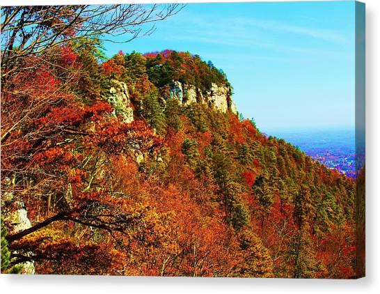 Pilot Mountain Canvas Print