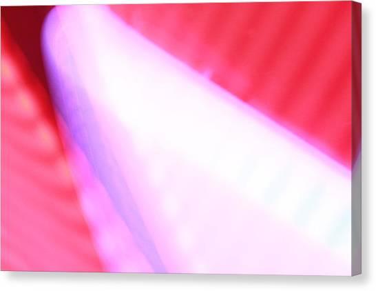 Pink Neon Canvas Print by Will Czarnik