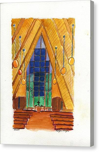 Placerville Chapel Canvas Print