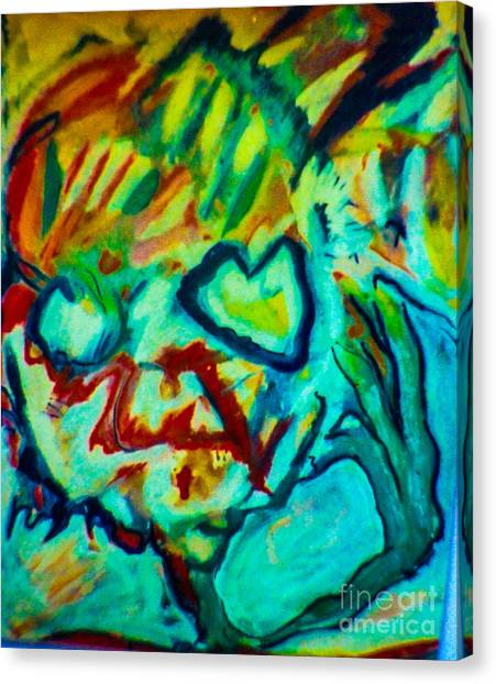 Purple People Eater Canvas Print by Bill Davis