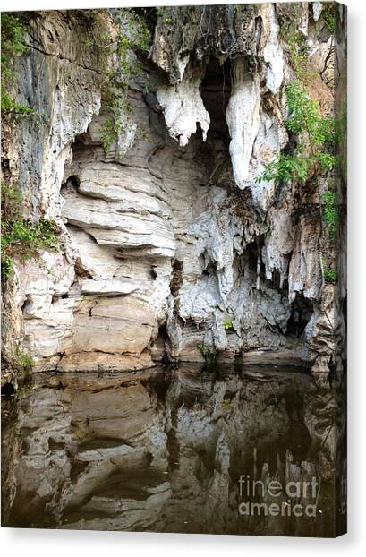 Limestone Caves Canvas Print - Reflection by Ivy Ho