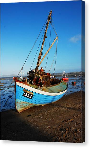 Canvas Print - Resting On The Sands by Peter Jenkins
