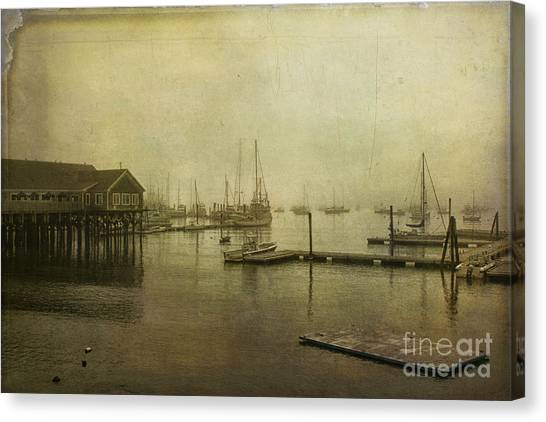 Rockland Harbor Canvas Print