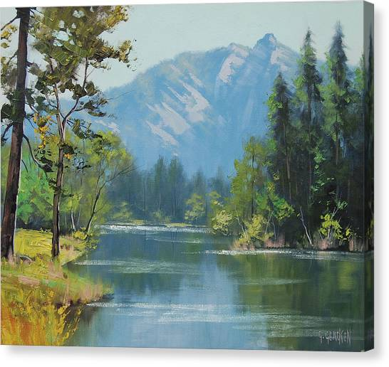 Rocky Mountains Canvas Print - Rocky Mountains by Graham Gercken
