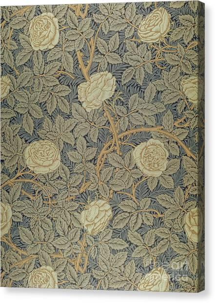 Pre-raphaelite Art Canvas Print - Rose by William Morris