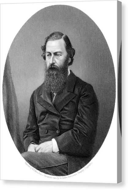 Samuel Baker, British Explorer Canvas Print by