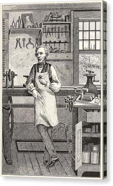 Samuel F. B. Morse 1791-1872, Inventor Canvas Print by Everett