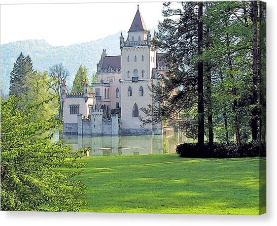 Schloss Anif Canvas Print