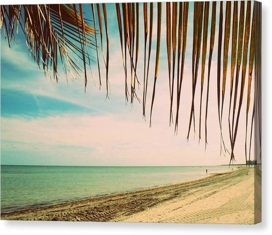 Seaside Canopy Canvas Print by JAMART Photography