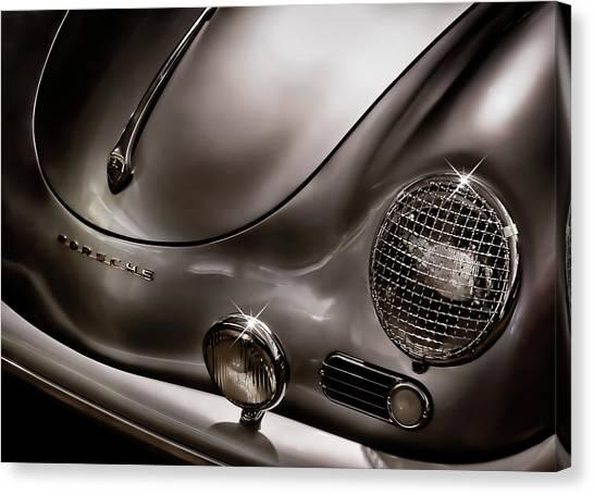 Porsche Canvas Print - Silver Ghost by Douglas Pittman
