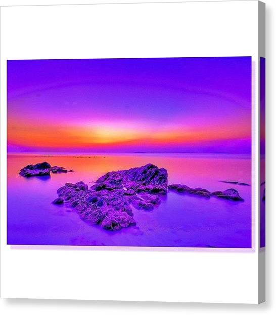Landscape_lovers Canvas Print - #sky_perfection by Tommy Tjahjono