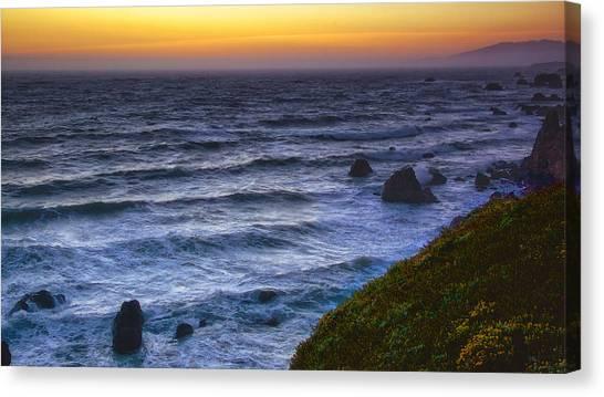 Sonoma Coast Sunset Canvas Print