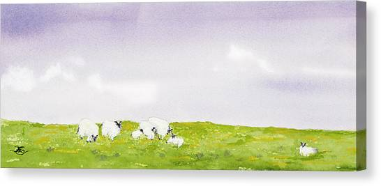 Spring In Ireland Canvas Print
