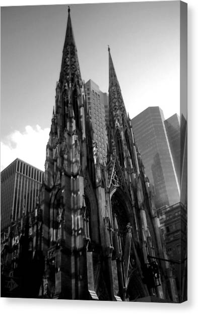 St. Patrick's Cathedral Canvas Print by MikAn 'sArt