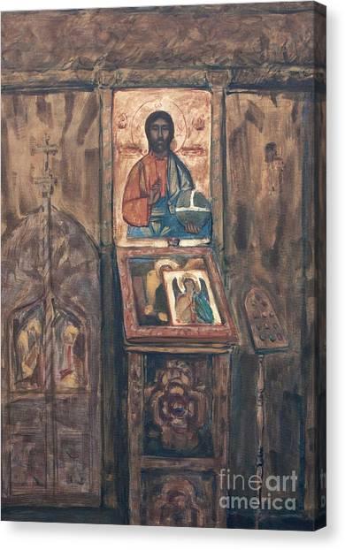 Stavropoleos Church Canvas Print