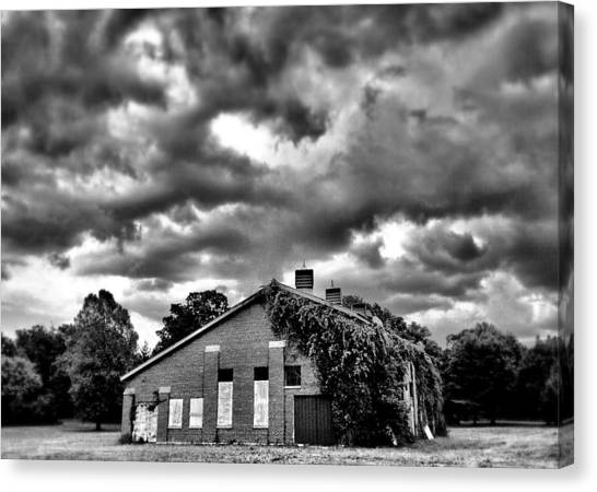 Stormy Monday #1 Canvas Print by John Derby