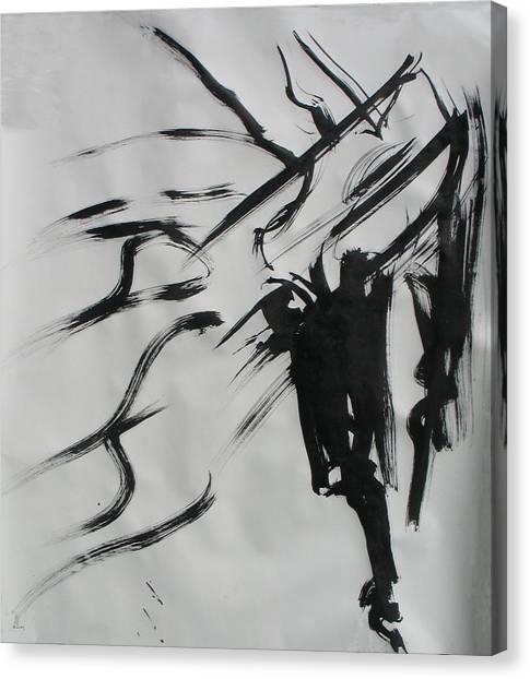 Sumi 4 Canvas Print
