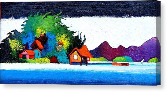 Summer Vacation Canvas Print by Rob M Harper