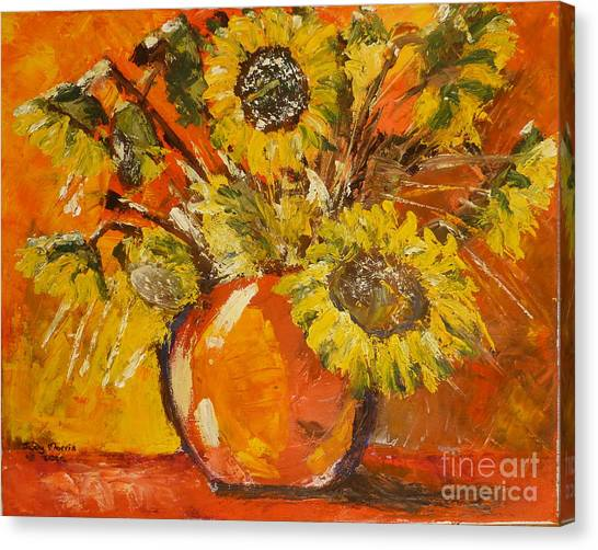 Sunflowers Canvas Print