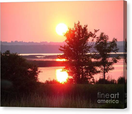 Sunset Ambience Canvas Print