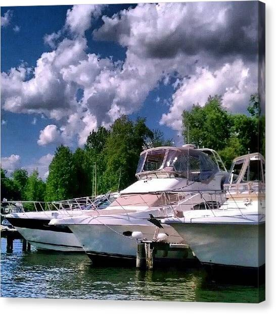 Marinas Canvas Print - Sylvan Beach by Dan Piraino