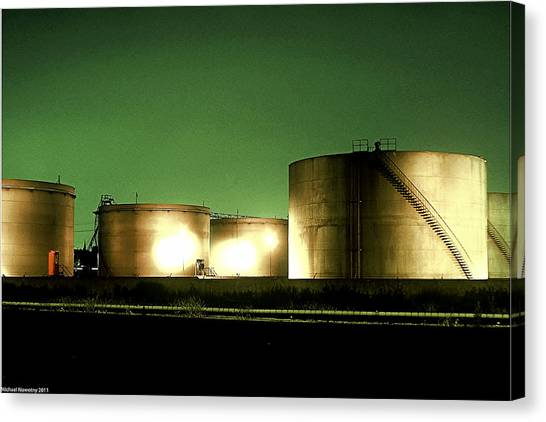 Tanks Canvas Print