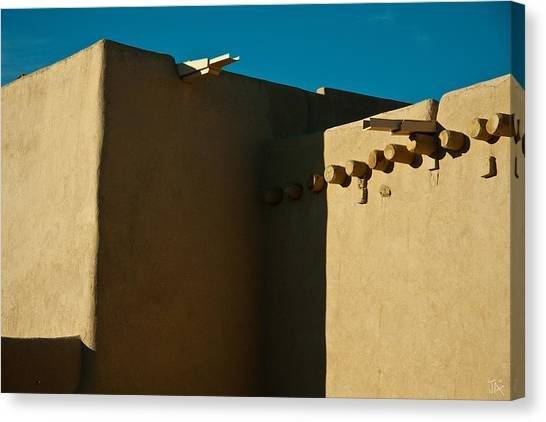 Taos Church I Canvas Print