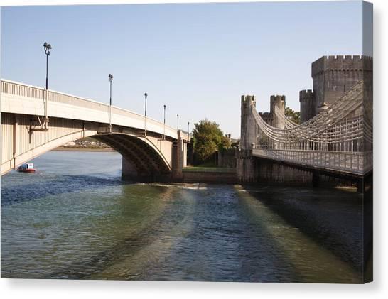Telford Suspension Bridge Canvas Print