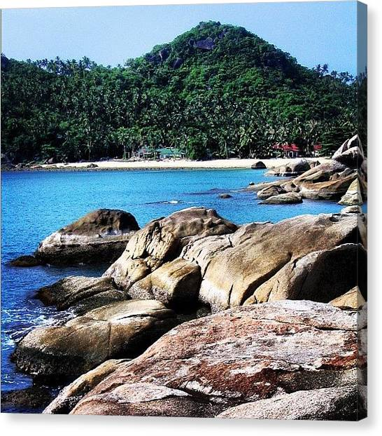 Seas Canvas Print - Thailand by Luisa Azzolini