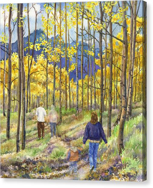 Colorado Canvas Print - The Circle Of Life by Anne Gifford
