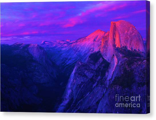 Halfdome Canvas Prints