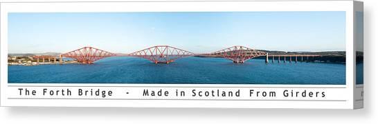 The Forth Bridge Canvas Print