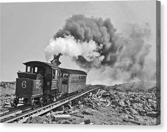 The Mount Washington Cog Railroad Canvas Print