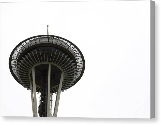 Canvas Print featuring the photograph The Needle by Lorraine Devon Wilke