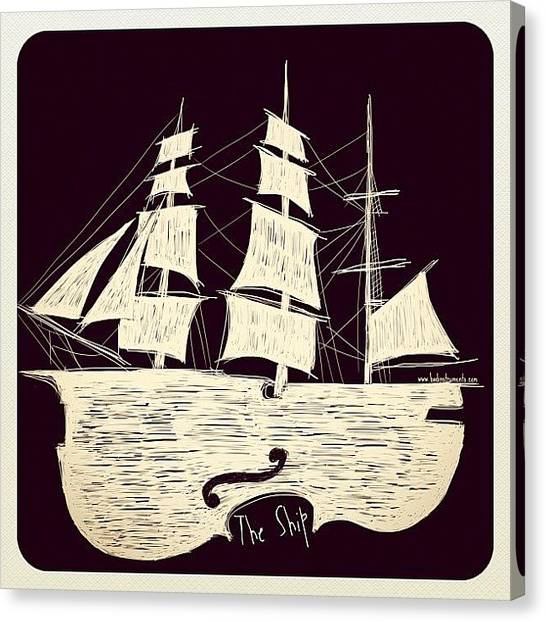 Violins Canvas Print - The Ship by Andrea Serrapiglio