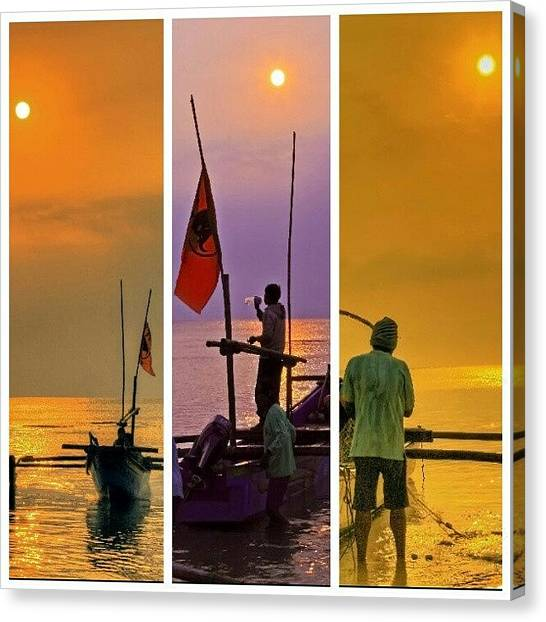Seas Canvas Print - #travelingram #travel #mytravelgram by Tommy Tjahjono