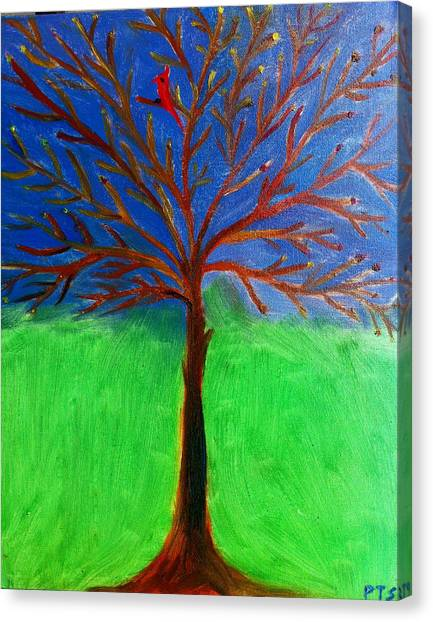 Tree Of Life Canvas Print by Prachi  Shah
