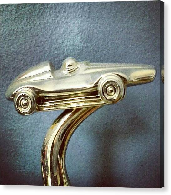 Driving Canvas Print - Trophy Car by Stacy C Bottoms