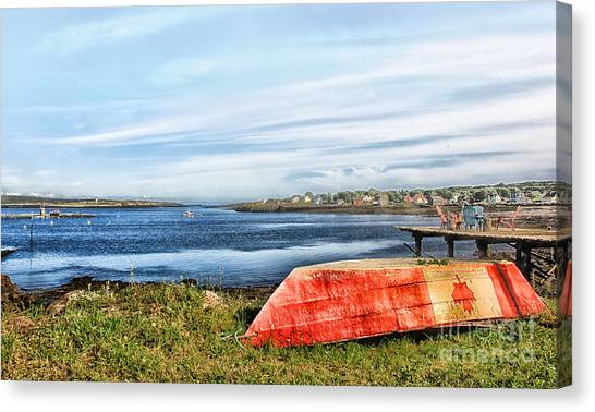 Truly Canadian Canvas Print