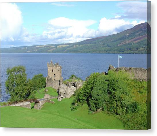 Urquhart Castle Canvas Print