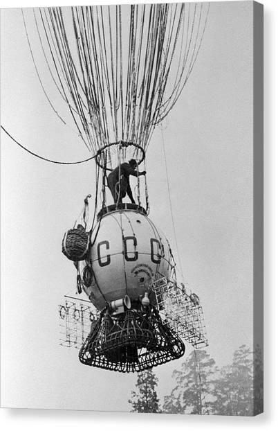 Ussr-1 High-altitude Balloon, 1933 Canvas Print by Ria Novosti