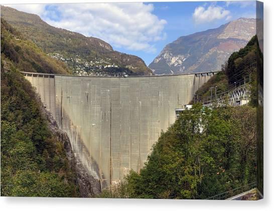 Contra Canvas Print - Valle Verzasca - Ticino by Joana Kruse