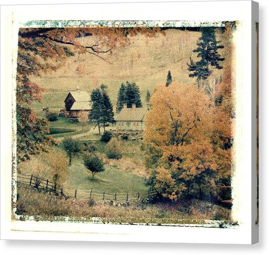Vermont Farm Canvas Print