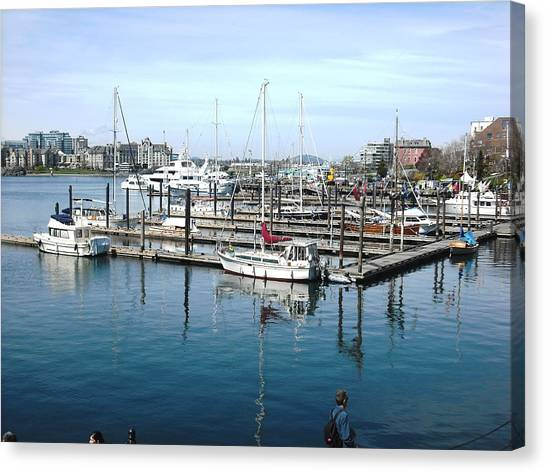 Victoria Inner Harbour Canvas Print