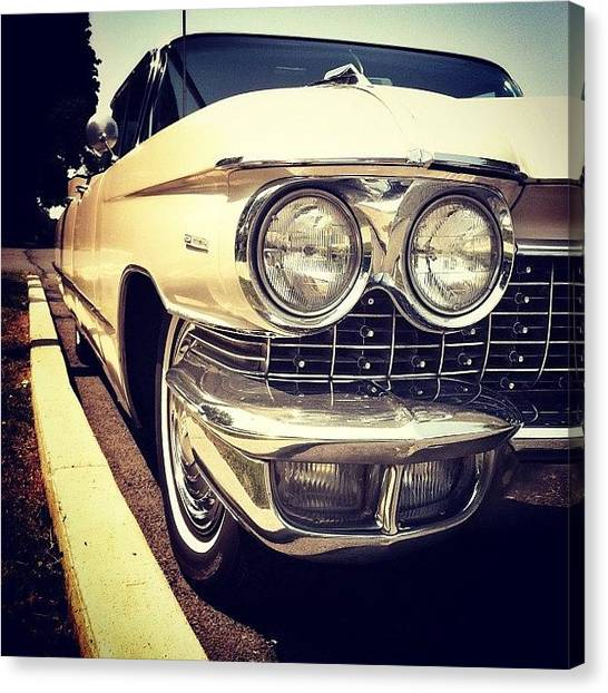 Maryland Canvas Print - #vintage #1960 #cadillac #coupedeville by Jason Miller